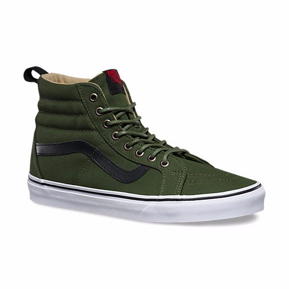 Vans Military Twill SK8-HI Reissue PT - Hunter Cycling  - 3