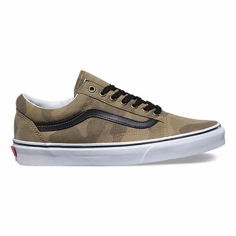 Vans Camo Jacquard Old Skool - Hunter Cycling  - 1