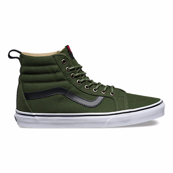 Vans Military Twill SK8-HI Reissue PT - Hunter Cycling  - 1