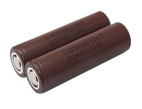 LG HG2 High Drain IMR Rechargeable Lion Batteries