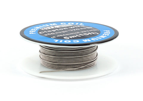 317L (SS) Clapton Coil Wire 26/32ga. Excellent for TC devices!