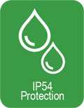IP54 protection