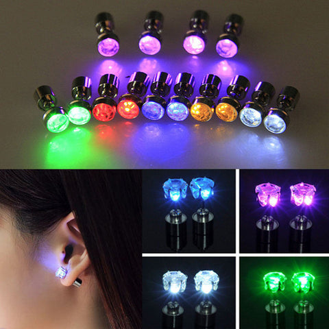 Light Up LED Stud - Earrings
