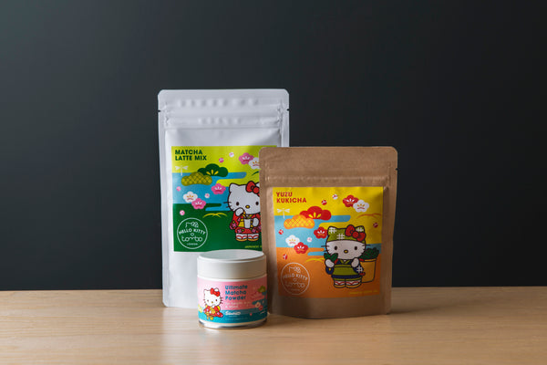 Hello Kitty x Tombo Tea & Matcha Set
