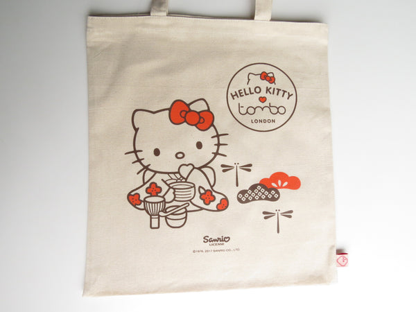 Hello Kitty x Tombo Tote Bag - Red