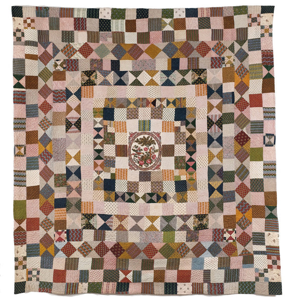 The Sidmouth Quilt with original panel