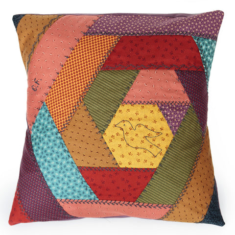 Pattern Box  - Crazy Quilt Cushion Pattern