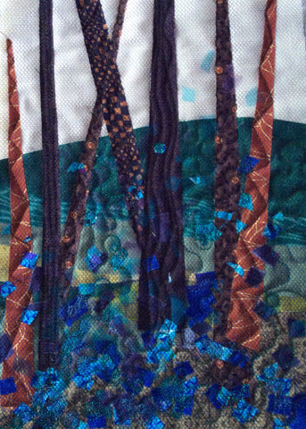 New listing: Quilters' Guild Virtual Conference 2021 - Zoom Workshop with Mary McIntosh - 'Layered landscapes' - 2.00 pm  to 4.30 pm on 17/04/2021