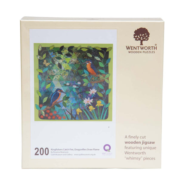 Wentworth Wooden Jigsaw Puzzle Kingfishers Catch Fire.... - Maxi (200 pieces)