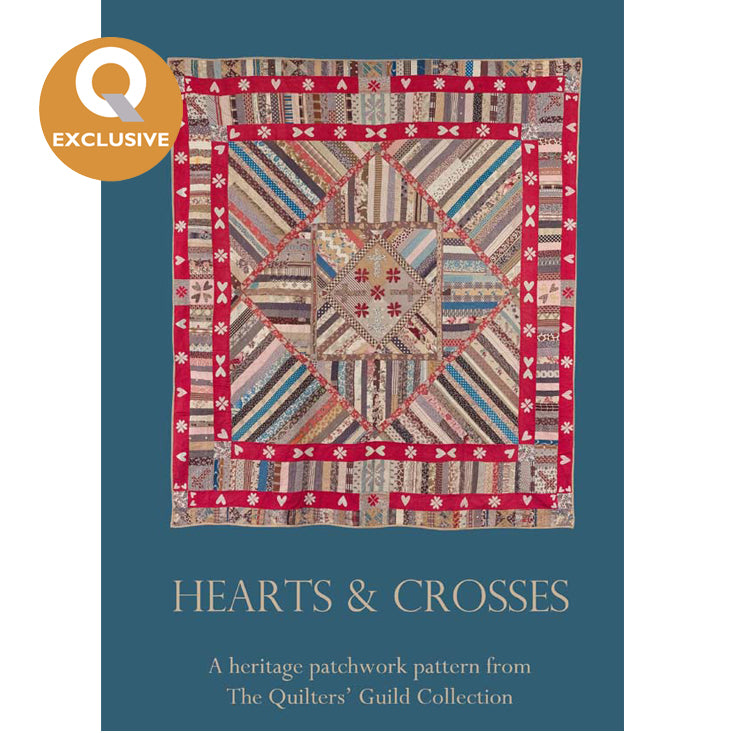 Hearts and Crosses Quilt Pattern Digital Download