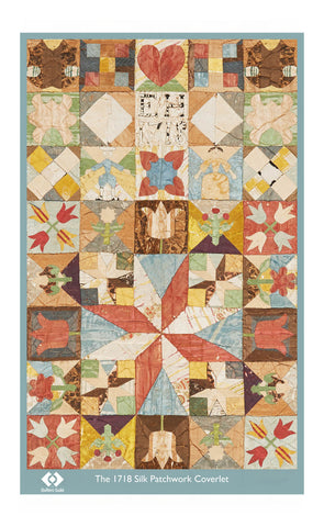 1718 Coverlet Tea Towel