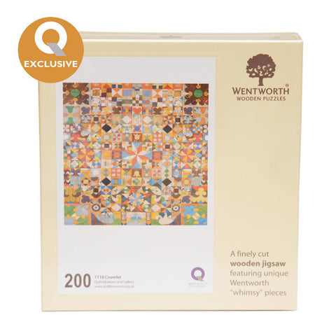 Wentworth Wooden Jigsaw Puzzle 1718 Coverlet - Maxi (200 pieces)