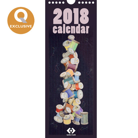 2018 Quilters' Guild Calendar