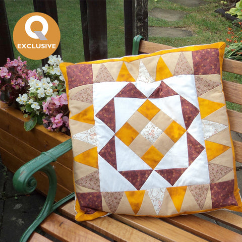 The Billings Coverlet Cushion Pattern