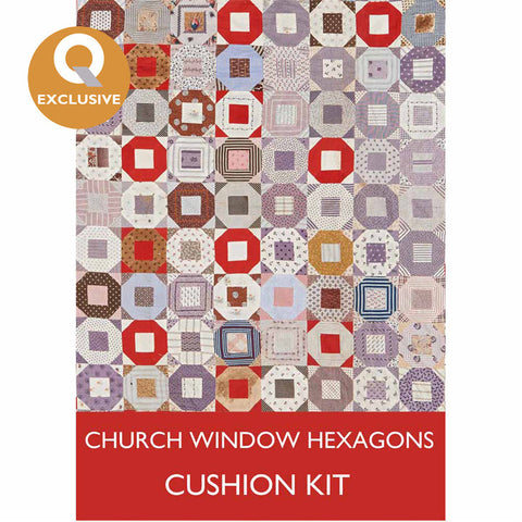 Church Window Hexagons (English) Paper Piecing Kit