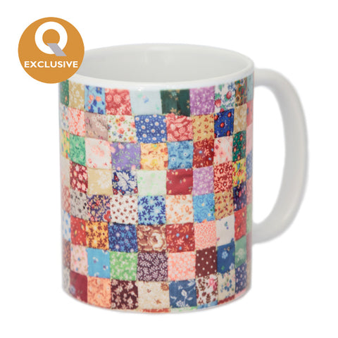 Barbara Bailey patchwork mug