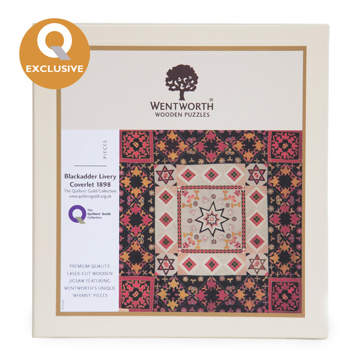 Wentworth Wooden Jigsaw Puzzle; Blackadder Coverlet - Maxi (200 pieces)