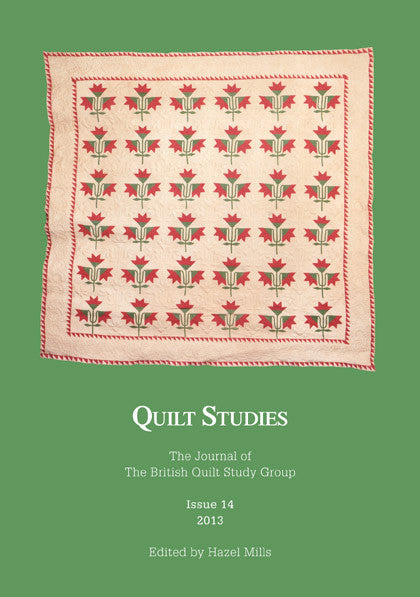 Quilt Studies Journal Issue 14