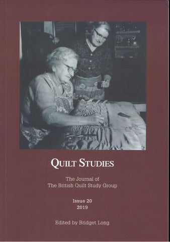 Quilt Studies Issue 20