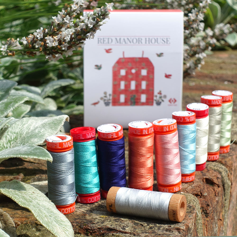 Red Manor House Aurifil Thread Collection Pack