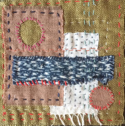 New listing: Quilters' Guild Virtual Conference 2021 - Live Lecture with Rosemary Muntus - 'Simple stitching squares, meditational sewing and boro' at 7.30 pm on 16/04/2021