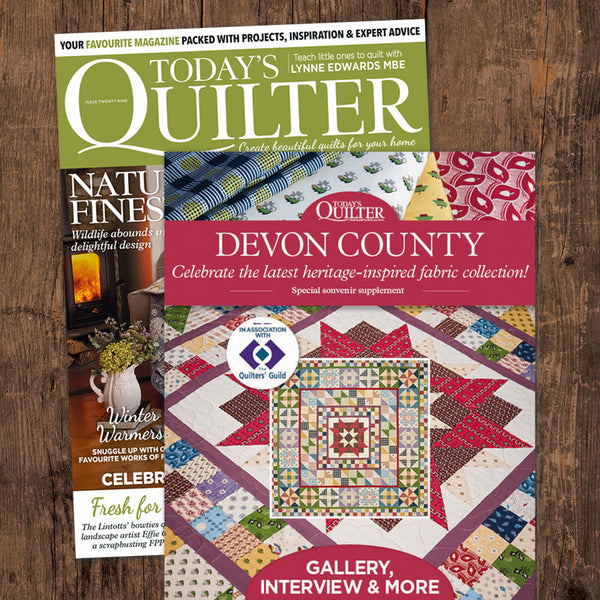 Devon County Medallion Quilt Top Fabric Pack