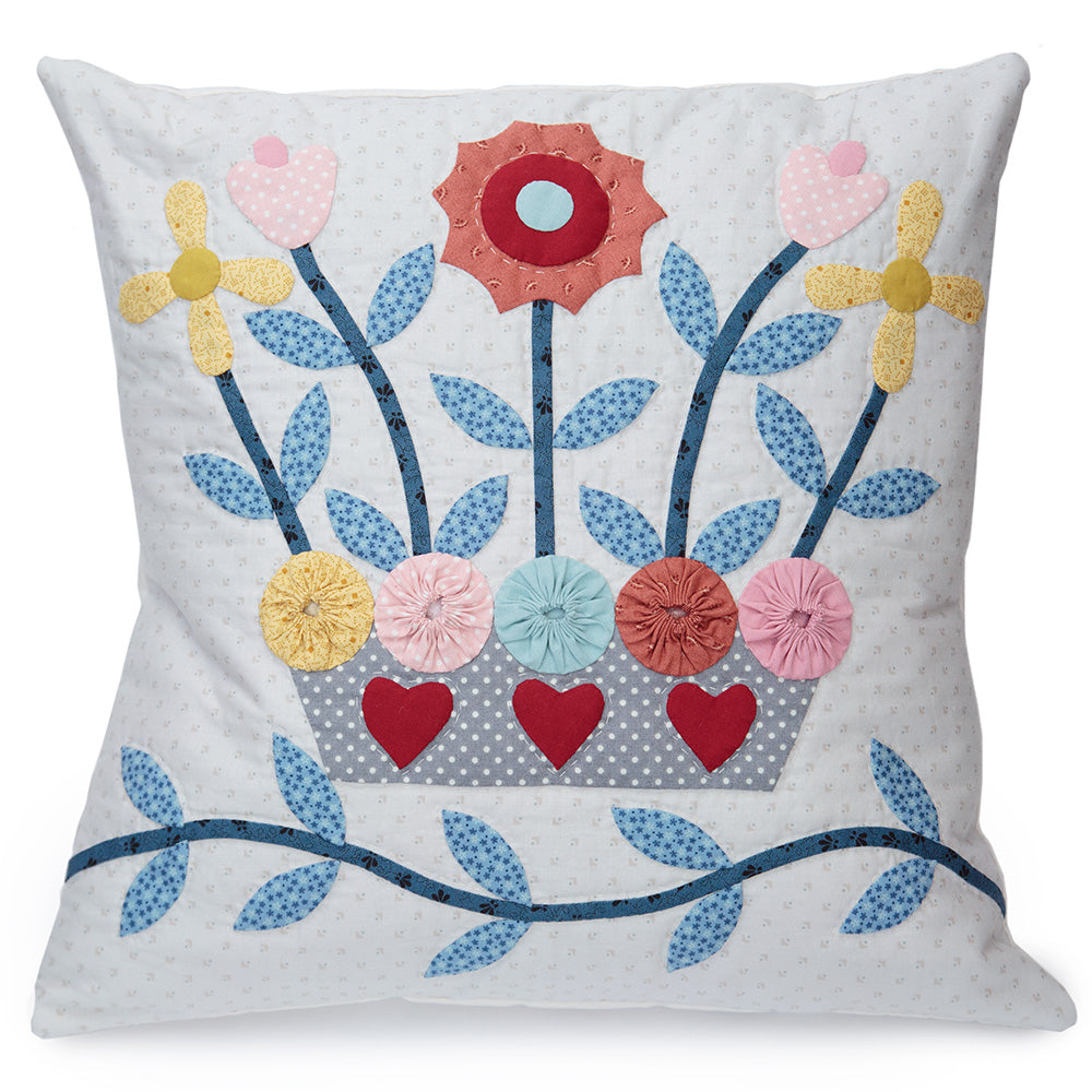 Pattern Box - Basket of Blooms Applique Cushion Pattern