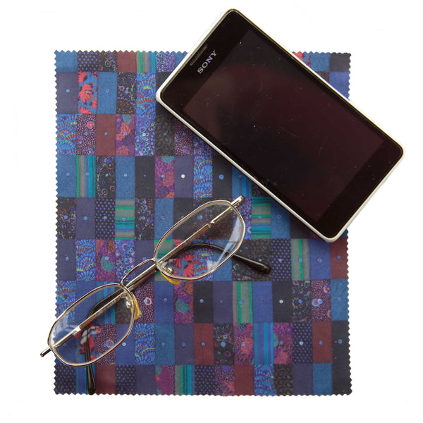 Lens Cloth - Dark Wagga Wagga by Kaffe Fassett