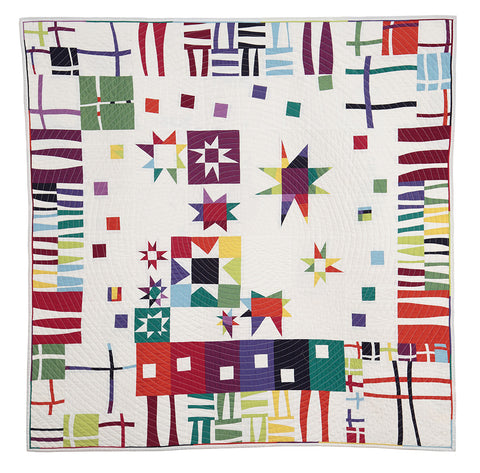 Modern Jazz Digital Quilt Pattern