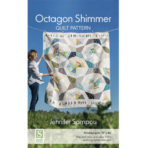 Octogon Shimmer Quilt Pattern