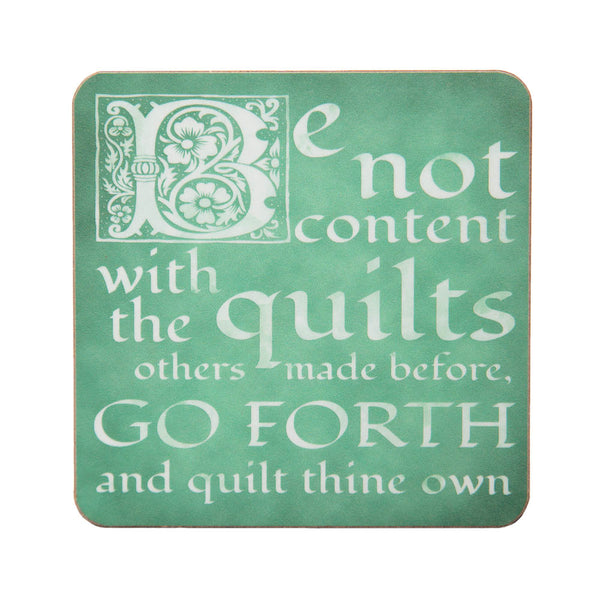 Quilting Proverbs Coasters