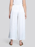2004024- Pleated Palazzo Pants - Montania Shop