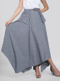 2101005-Assymetrical Skirt - Montania Shop
