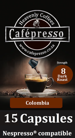 Colombian Dark Roast Capsules x15