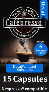 Colombian Decaf Capsules x15