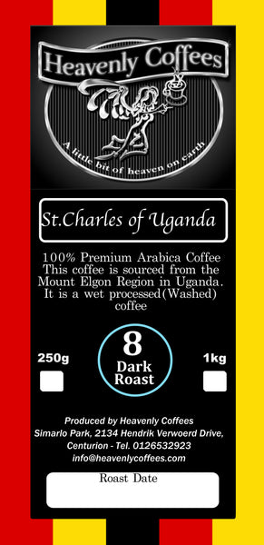 St.Charles of Uganda Dark Roast