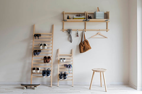 Large Step Up Clothes Rack