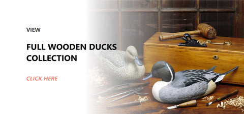 Wooden ducks Collection