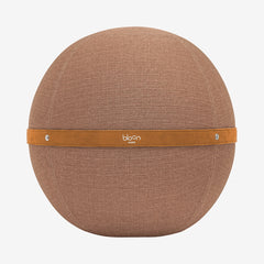 Brown Spherical Ergonomic Seat - by Bloon Paris | Truffa