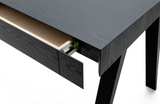 4.9 Desk 2 Drawers in Black - by Emko
