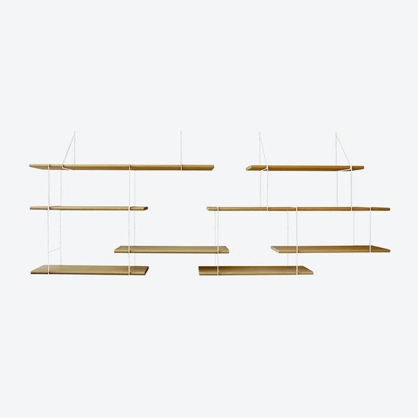 LINK Shelf - Duo - Oak/White | Studio Hausen