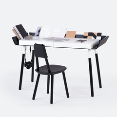 'My Writing Desk' Double Drawer in Black - by Emko