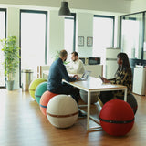 Red Spherical Ergonomic Seat - by Bloon Paris