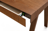 4.9 Desk Single Drawer in Brown - by Emko