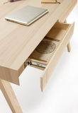 4.9 Desk 2 Drawers in Ash - by Emko