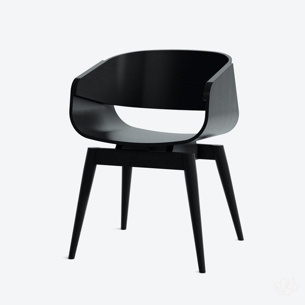 4th Armchair Colour - in Black By Almost Furniture-Primrose Homeware