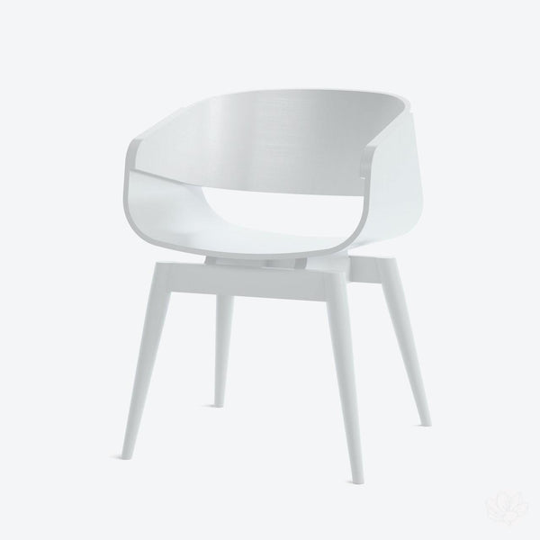 4th Armchair Colour - in White By Almost Furniture-Primrose Homeware