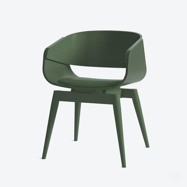 4th Armchair Colour Soft - in Green By Almost Furniture-Primrose Homeware
