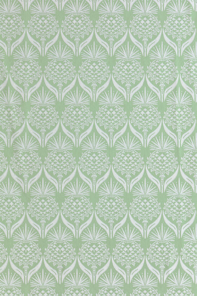 Thistle Wallpaper | Green | Designer Wallpaper from 'Barneby Gates'