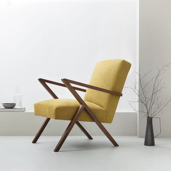 Retrostar Armchair - Sternzeit Design - Basic Line in Yellow | Retro Armchair